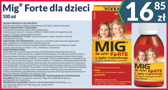 Mig dla dzieci 20 mg/ml zawiesina doustna 100 ml