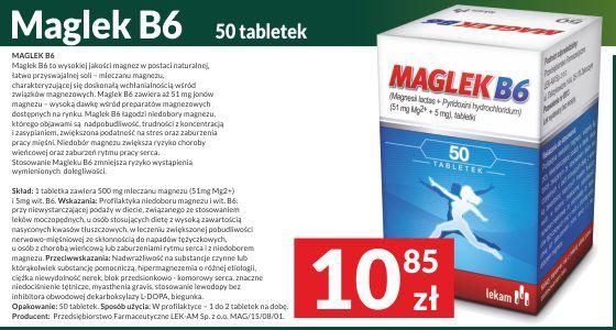 Profilaktyka niedoboru magnezu i witaminy B6